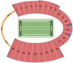 Sun Bowl Stadium Seating Chart El Paso