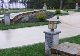 id 439 spacer granite posts swenson zoom yard light post22