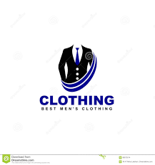 High Quality Design Vector Clothing Logo Online Shop Fashion Icon Stock Vector