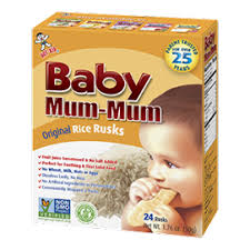 All Natural Rice Biscuits for Kids - Baby Mum-Mum