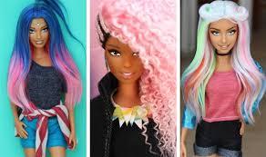Instagram účet Plný Barbie Panenek S Top účesy Opravdové Vlasy