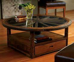 stylish wagon wheel coffee table with 1000 images about table on coffee table design