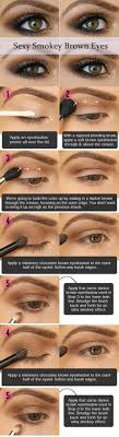y smokey eye makeup tutorial gorgeous easy makeup tutorials for brown eyes