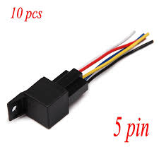 online get cheap 12 volt wiring aliexpress com alibaba group in stock 10 pack car auto 12v 12 volt dc 40a amp spdt relay socket