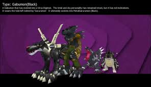 Digimon Masters Online Evolution Chart Blackgabumon Digimon Masters Online Wiki Dmo Wiki