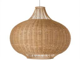 wicker pear shaped pendant lamp extra large tropical pendant lighting