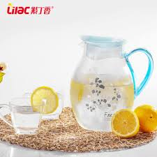 Decorative Water Pitcher Manufacturer Promotional Decorative Glass Unique Water Pitcher Big 42