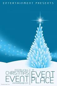 Christmas Program Templates Pin By Sirle Kabanen On Christmas Posters And Flyers Type
