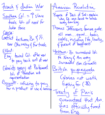 french n war american rev dbq notes thgradeushistorypage