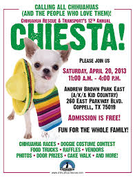 the nosey dog  chiesta flyer 2013