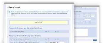 Rental References Form Tenant Referencing Credit Checks Landlords Insurance Letting Ref