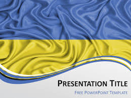 Blue And Gold Powerpoint Template Free Yellow Powerpoint Templates Presentationgo Com