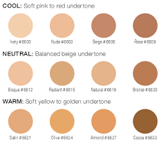 Arbonne Perfecting Liquid Foundation Tone Guide