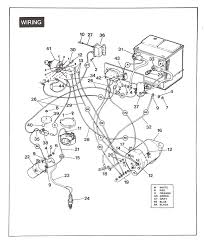 Wiring diagrams for yamaha golf cart electric diagram ez go with endearing enchanting