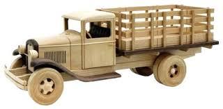 wood truck plan wooden plans toy dump