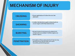 compression force injury. penetrating injuries; 5. compression force injury /