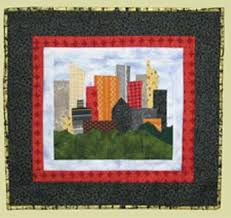 8 best Spanish quilts images on Pinterest | Mosaics, Spanish and ... & NYC Skyline quilt kit. Adamdwight.com