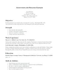 Resume Format Usa Jobs Cover Letter For Government Best Usajobs