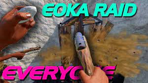 EOKA Raiding EVERYONE - Rust - YouTube