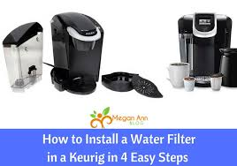 Add 3 cups (24oz.) of water into the water reservoir. How To Install A Water Filter In A Keurig In 4 Easy Steps Megan Ann Blog