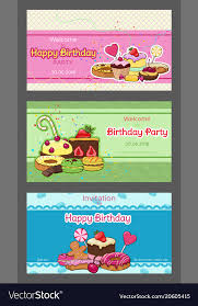 Photo Invitation Postcards Birthday Party Horizontal Invitation Postcards