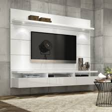 entertainment center modern tv stand media console wall mounted furniture white