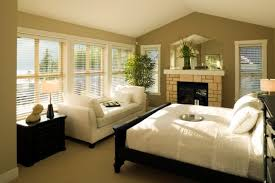 Relaxing Paint Color For Bedroom Lime Green Accents Bedroom With Fancy Paneled Window Using Blind
