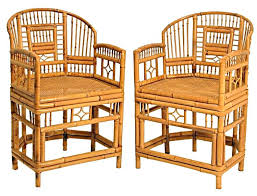 R Bamboo Chair After More Research This Style May Also Be Known As A Rattan  And