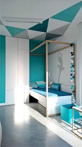 Minimalist Home Uses Aqua To Accent Angles   Http://freshome.com /minimalist Home Uses Aqua To Accent Angles/