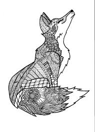 fox coloring book save kearney woman s zentangle coloring book stems from her doodling