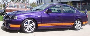 Ford Falcon Colour Chart Fpv Colours