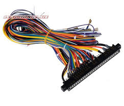 arcade jamma 56 pin interface cabinet wire wiring harness cable to arcade board