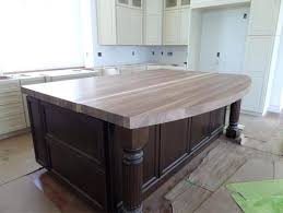 sealing butcher block countertops staining ikea gray stained finishing