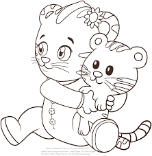 Small Picture Baby Margaret the sister of Daniel Tiger coloring pages
