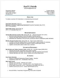 Resume Engineering Student Example 13 Undeclared Freshman Special