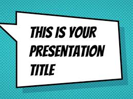 Style Template Free Powerpoint Template Or Google Slides Theme With Comicbook Style