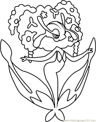 Small Picture Florges Pokemon Coloring Page Free Pokmon Coloring Pages
