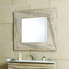 Зеркало <b>Clarberg Papyrus</b>-<b>wood</b> 100х100 см светлое дерево ...
