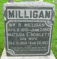 Matilda E Howlett Milligan (1850-1907) - Find A Grave Memorial