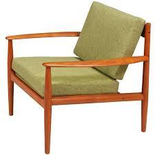 grete jalk teak lounge chair for france søn for