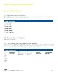 Business Process Document Template Word 1438171600068 Business