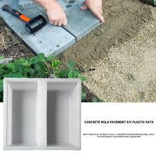 plastic garden path maker paving cement