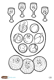 Small Picture This coloring page has it all four cups of wine three pieces of