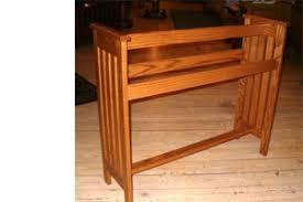 mission oak furniture. Mission Quilt Rack II Oak Furniture C