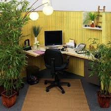 modern cubicles decoration cubicle decor ideas. office u0026 workspace relaxing cubicle decoration with real green plants finished brown rug design and yellow room divider idea surprising modern cubicles decor ideas