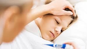 Aanhoudende koorts kind
