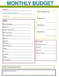 Free Home Budget Worksheet Sample Home Budget Spreadsheet Easy Free Templates Worksheet