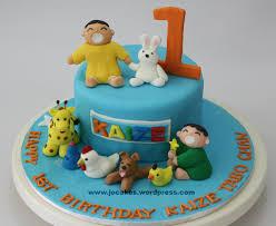 1 Year Old Boy Cake Design Minna Tabo Cake For 1 Year Old Boy Jocakes