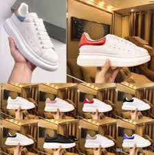 White Designer Shoes Women Top Luxury Designer Shoes Womens Mens Trainers White Leather Platform Shoes Flat Casual Party Wedding Shoes Suede Sports Sneakers