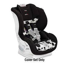 britax car seat cover set marathon tight cowmooflage